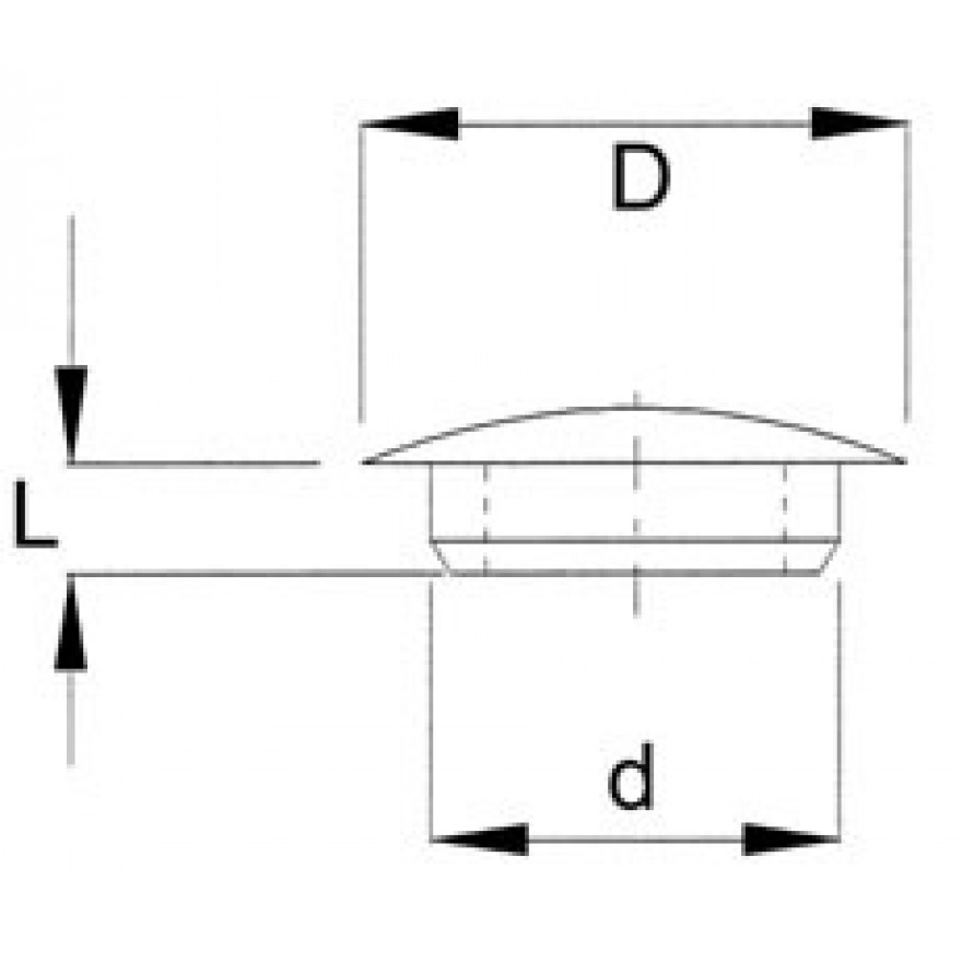 abdeckstopfen 18 0 mm eshop arns u r mer kg. Black Bedroom Furniture Sets. Home Design Ideas