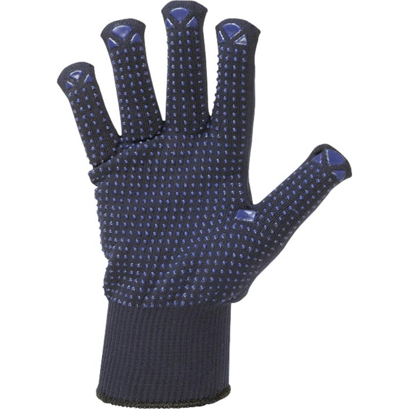 Henan Strick-Handschuh genoppt