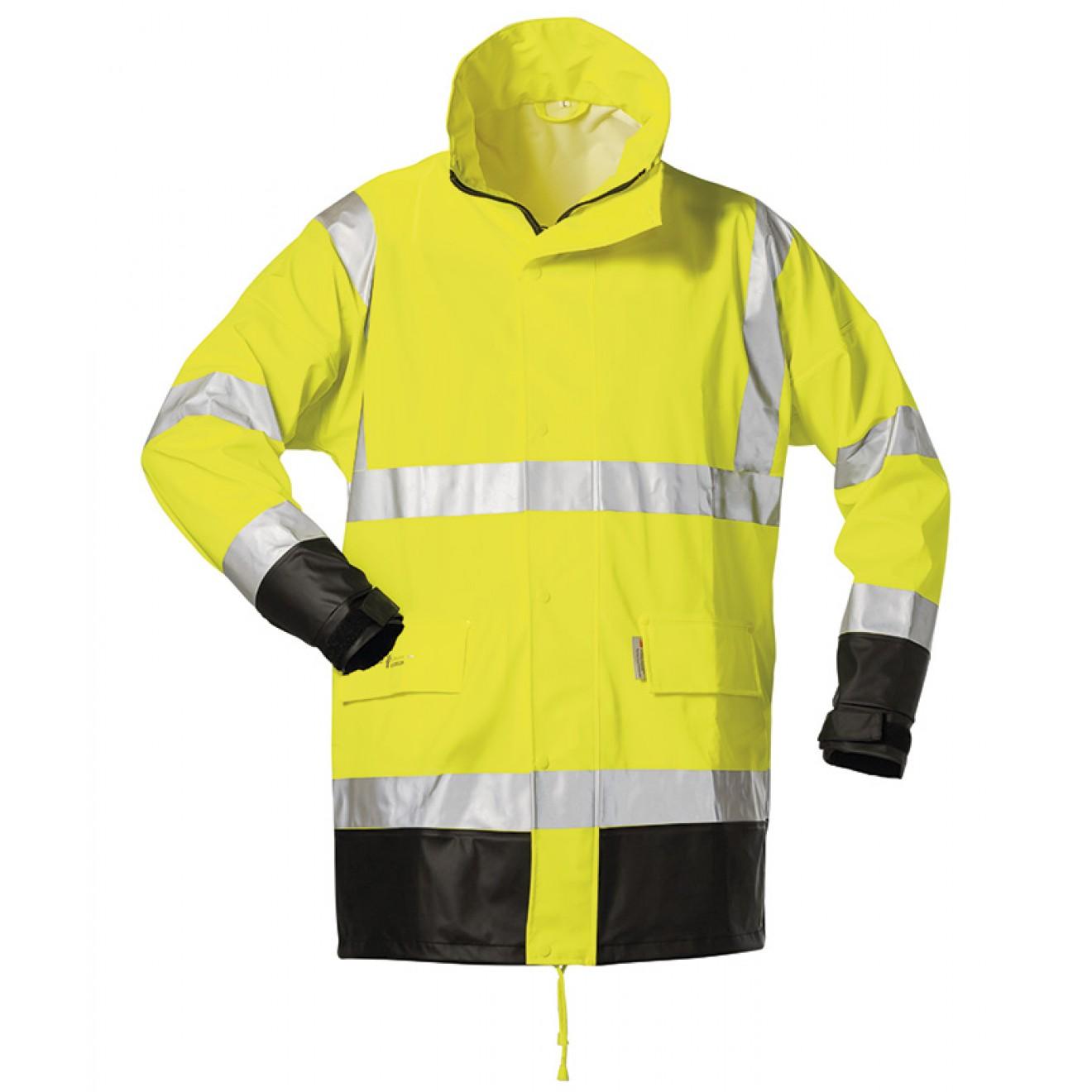 NORWAY Regen Jacke mit Kapuze PU